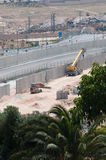 Israeli Separation Wall Stock Image