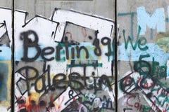 Israeli Separation Wall, Bethlehem Royalty Free Stock Photography