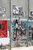 Israeli Separation Wall, Bethlehem Royalty Free Stock Photos