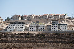Israeli Settlement Royalty Free Stock Photos