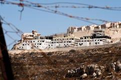 Israeli Settlement Stock Image