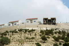 Israeli Settlement Construction royalty free stock photo