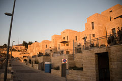Israeli settlement in occupied Palestinian territory Stock Image