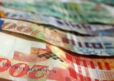 Israeli Shekel Bills #1. All the major Israeli bills in one shot royalty free stock photography