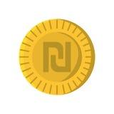 Israeli shekel isolated icon Stock Image
