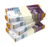 Israeli Shekel money isolated on white background. Stock Photos
