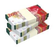 Israeli Shekel money isolated on white background. Royalty Free Stock Photography