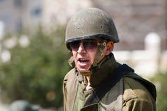 Israeli Soldier Royalty Free Stock Photos