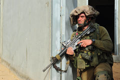 Israeli soldier Royalty Free Stock Images