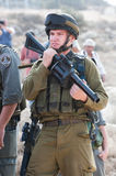Israeli Soldiers Royalty Free Stock Photo