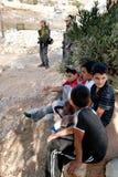 Israeli Soldiers in East Jerusalem Royalty Free Stock Image
