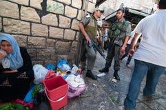Israeli Soldiers in Jerusalem Stock Image