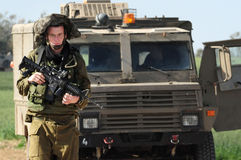Israeli soldiers Stock Photos