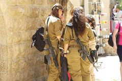 Israeli soldiers Royalty Free Stock Photography