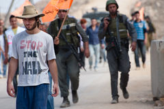 Israeli Solidarity Activism Royalty Free Stock Image