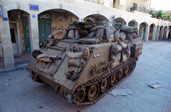 Israeli Tank Royalty Free Stock Photo