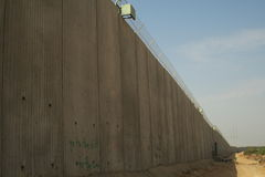 Israeli wall Royalty Free Stock Image