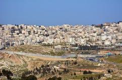 Israeli West Bank barrier Royalty Free Stock Photo