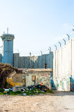 Israeli West Bank barrier Stock Photography