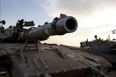 Israelische Armee gepanzerter corp, Becken Merkava stockbild