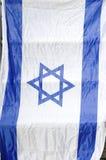 Israelische Markierungsfahne Lizenzfreies Stockfoto