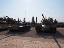 Israelische Museums-Behälter-Truppen Yad Le-Shirion lizenzfreies stockbild