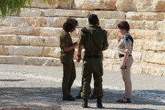 Israelische Soldaten Stockfotos