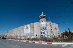Israelische Trennung-Wand Stockfoto