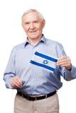 Israelischer älterer Mann Stockfotografie
