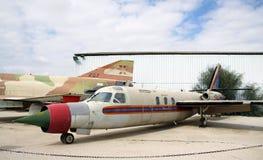 Israelischer Düsenflugzeug administrativer AERO KOMMANDANT-/JET-BEFEHL Lizenzfreie Stockfotografie