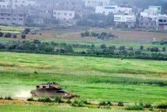 Israelischer IDF-Behälter - Merkava lizenzfreie stockfotos
