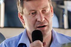 Israelischer Politiker Stas Misezhnikov, ehemaliger Minister von Tourismus stockfoto
