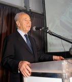 Israelischer Präsident Shimon Peres. Lizenzfreie Stockfotografie