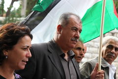Israelisches Knesset-Bauteil Mohammad Barakeh lizenzfreie stockfotos