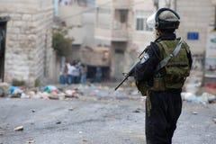 Israels polis pa hogsta beredskap