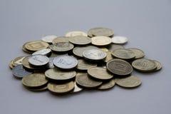 israeliska pengar arkivbild
