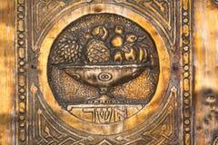 israeliska symboler tolv för asherfamiljer Royaltyfria Foton