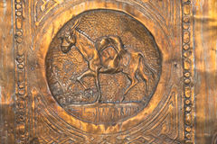 israeliska symboler tolv för familjer Royaltyfri Bild
