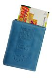 Israeliskt identitetskort och pengar Arkivbilder