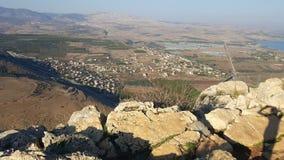 Israelita Rocky Landscape Imagem de Stock Royalty Free