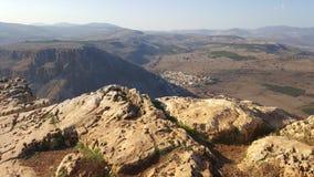 Israelita Rocky Landscape Foto de Stock