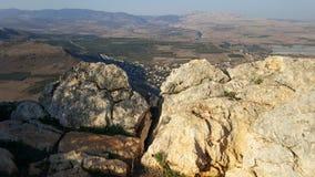 Israelita Rocky Landscape Imagem de Stock