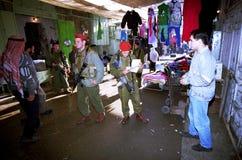 ISRAELS FÖRSVARSMAKT PÅ VÄSTBANKEN Fotografering för Bildbyråer