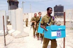 Israels Parlamentswahl-Tag Lizenzfreie Stockbilder