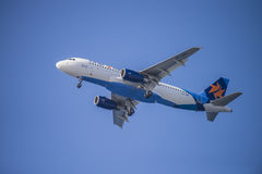 Israir airlines, israel, airbus a320-232 Royalty Free Stock Photo