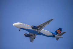 Israir airlines, israel, airbus a320-232 Royalty Free Stock Photography