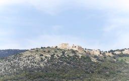 israël galilee Nimrod Fortress Royalty-vrije Stock Foto