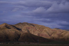 Issachar é condado, Sajia, Xizang Fotografia de Stock