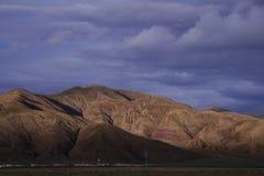 Issachar графство, Sajia, Xizang стоковая фотография