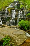 Issaqueena Falls in South Carolina in Spring Royalty Free Stock Photos